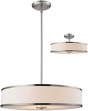 Z-Lite 183-24 3-Light Convertible Pendant