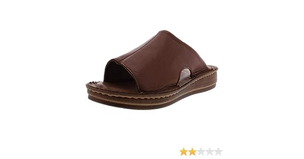 Bella Vita Womens Mae Italy Leather Open Toe Slide Sandals Shoes BHFO 1948