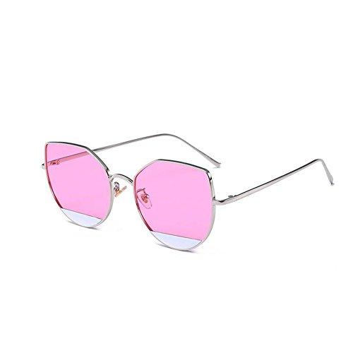 réfléchissantes Lunettes chat NIFG personnalité oeil D multicolore de soleil européenne de 55mm et de 147 soleil américaine 140 lunettes de qualité haute de adXqSg