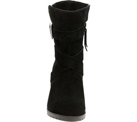Doris Boot D Clarks 6 5 Black Wide Malvet Suede Women's H4WqSRF