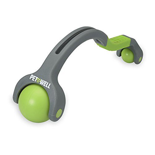PetWell Dual Point Handheld Massage Roller Pets...
