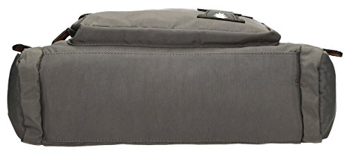 SwankySwansKempton Ladies Day Multi Zip L - Borse a Tracolla donna Dark Grey
