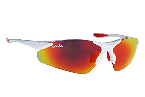 HKUCO Reinforce Replacement Lenses For Rudy Stratofly Black//Titanium Sunglasses