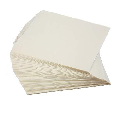 Oasis Supply Twisting Wax Paper, Rectangle Anti-Sticking Candy Wrappers & Patty Paper, 4.5