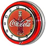 Coca Cola, Neon Clock, Bright Double 18 inch Neon