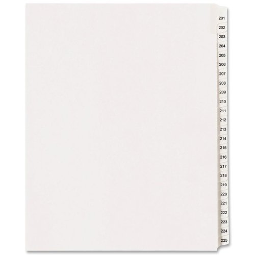 Nice AVE01338 - Avery Avery-Style Legal Side Tab Divider hot sale