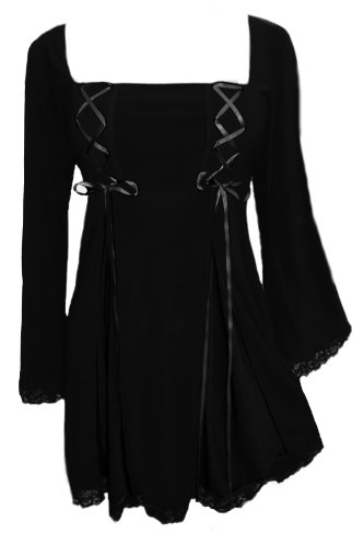 Dare to Wear Victorian Gothic Boho Women's Plus