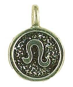 - Leo Astrology Talisman Zodiac Pewter Pendant