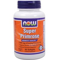60 Gels Now Foods - Now Foods Super Primrose 1300mg, 60 gels ( Multi-Pack)