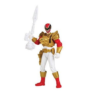 Power Rangers, Megaforce, Ultra Red Ranger Action Figure, 4 Inches