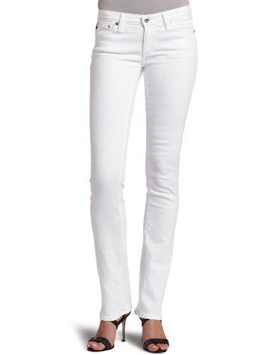 - AG Adriano Goldschmied Women's Ballad Slim Bootcut Jean, White, 24