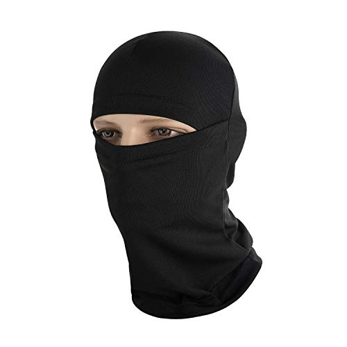 (M-Tac Ski Face Mask Mens Military and Tactical Motorcycle Balaclava (Black))