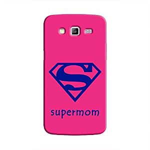 Cover it up Supermom Samsung Galaxy J7 Hard Case - Pink