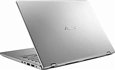 Newest ASUS 14.0-inch 2-in-1 Touchscreen FHD (1920x1080) Laptop PC, Intel i5-8250U up to 3.4GHz, 8GB DDR4 SDRAM, 1TB HDD, Fingerprint Reader, Windows Ink Capable, Backlit Keyboard, Windows 10 from Asus