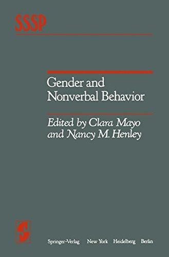 Gender and Nonverbal Behavior (Springer Series in Social Psychology)