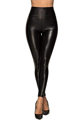 07b68f5338cd1d TRAIPAINK Sexy Womens Faux Leather High Waisted Leggings | Weshop ...