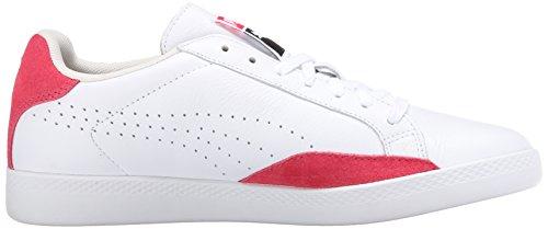 Deportes Partido Puma de zapatilla White Mín clásica deporte Geranium básicos qaEpZwE