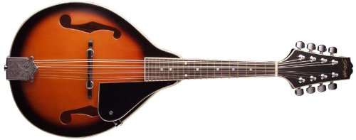 Stagg M20 8-String Bluegrass Mandolin with Adjustable Bridge - Violinburst