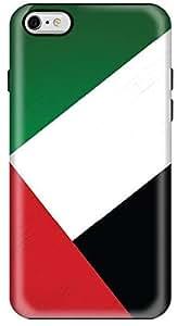 Stylizedd Apple iPhone 6Plus Premium Dual Layer Tough Case Cover Gloss Finish - Flag of UAE