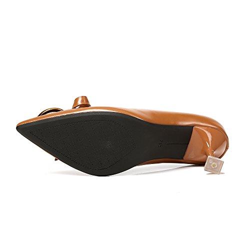 Welldone2018 Zapatos Sint de de Material Vestir fYarf