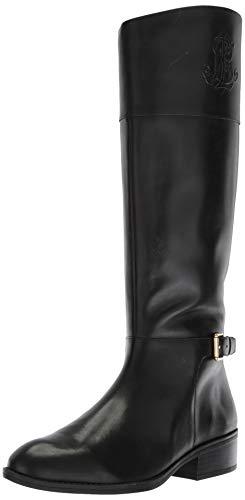 Lauren Ralph Lauren Women's Madisen Fashion Boot, Black, 7.5 B US