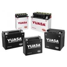 Yuasa Yumicron 12V Battery - YB12A-A/Black