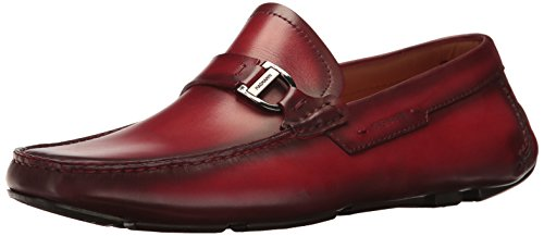 Mens Magnanni Dallas Slip-on Loafer Rosso
