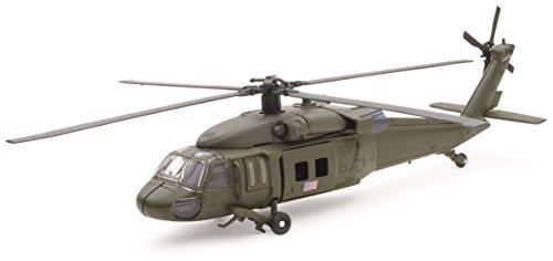 Sikorsky UH-60 Black Hawk Helicopter Model Kit by Newray (Assembly Required)