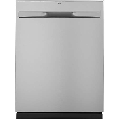 "GE 24"" Top Control Built-In Dishwasher with Stainless Steel Tub Stainless steel GDT225SSLSS"