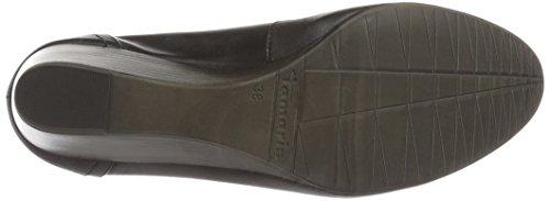 Tamaris Para De 001 Mujer black Tacón Zapatos 22320 Negro rwH7r