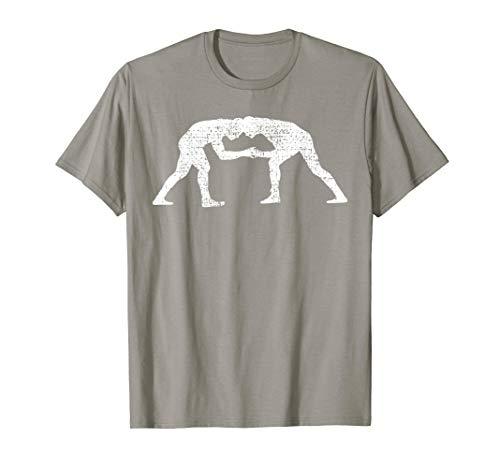 Wrestler Wrestle Grappler Gift Wrestling Vintage  T-Shirt