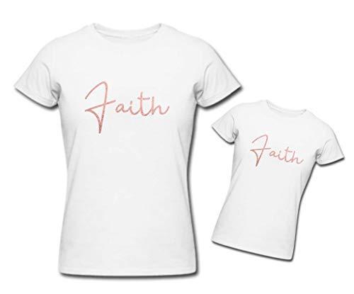 Or Imprimé Fête Mère Assorties Blanc Makeover Des Limited Foi Fille T Rose Mères Second 60 shirt Ensemble wTBgpqHx