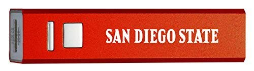 - San Diego State University - Portable Cell Phone 2600 mAh Power Bank Charger - Red