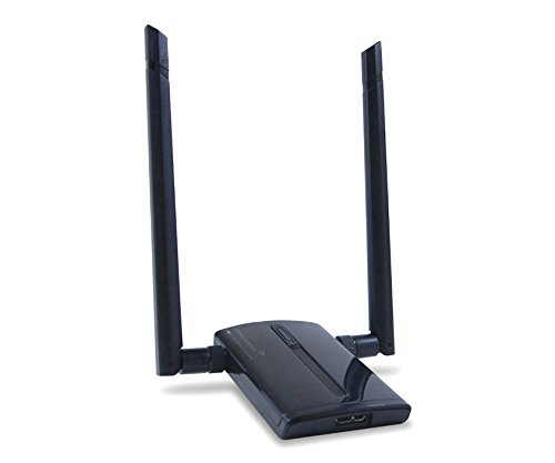 Amped Wireless Aca1 High Power 500Mw Dual Band Ac Wi. Fi Usb Adapter . Ultra. Fast 802.11Ac For Mac And Windows Pc, 2 X 5Dbi High Gain Antenna, 500Mw Amplifiers, Usb 3.0 Cable ''Product Type: Wireless Devices/Wireless Nics & Adapters'' by Unknown