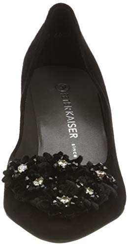 Heels Women's Schwarz Black Peter Suede Kaiser Toe 240 Closed Robin X45x6xwU