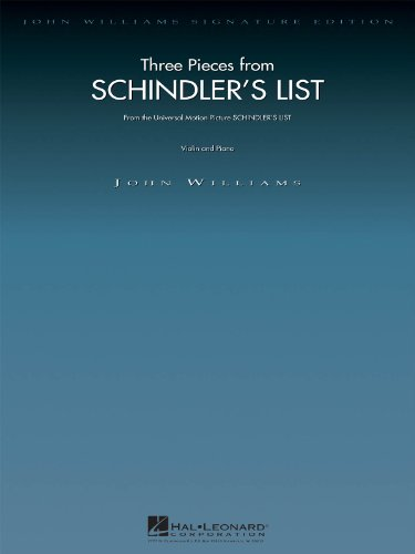 Three Pieces from Schindler's List: Violin and Piano