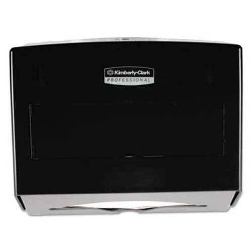 - Scott 09215 Scottfold Folded Towel Dispenser, Plastic, 10 3/4 x 4 3/4 x 9, Smoke