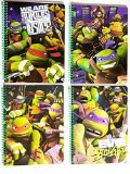 - Teenage Mutant Ninja Turtles - 1 Wide Ruled Spiral Wirebound Notebook - TMNT Cover Colors and Graphics Vary