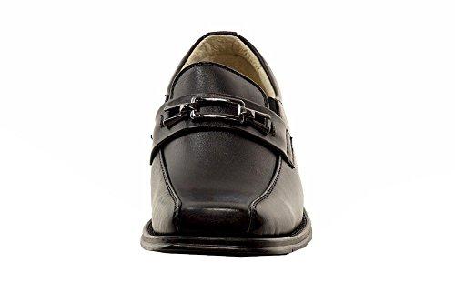 Easy Strider Boys 37418 Scarpe Da Sera Uniformi Per La Scuola Della Moda Performance Black