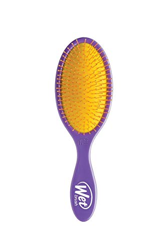 Wet Brush Detangler Hair Brush, Plum Party -