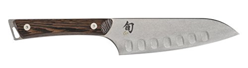 Shun SWT0727 Kanso 5.5-Inch Hollow-Ground Santoku Knife by Shun