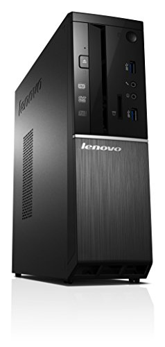 Lenovo ideacentre 510S Desktop PC (Intel Celeron G3900, 2,8GHz, 8GB RAM, 256GB SSD, Intel HD Grafik 510, DVD-Brenner, Windows 10 Home) schwarz