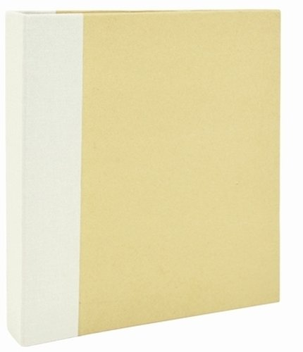 Kaisercraft CM902 Captured Moments D-Ring Album, 6 by 8-Inch, Cream by Kaisercraft