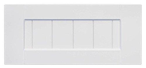 Cabinet Doors 'N' More 16'' X 5 3/4'' White RTF Beaded Shaker Kitchen Cabinet Drawer Front by Cabinet Doors 'N' More