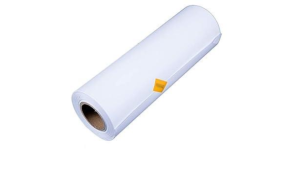 QING MEI-Papel De Dibujo Rollo Ampliado Paquete De Dibujo Papel Blanco 1270mmX50 M Diseño De Ingeniería Arquitectónica Dibujo Dibujo Color Plomo Papel De Dibujo 80 G De Espesor A+: Amazon.es: Hogar