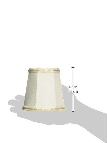 Royal Designs CS-113EG Decorative Trim Deep Empire Chandelier Lamp Shade Eggshell Inc.