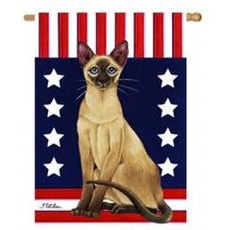 Siamese Patriotic Banner 28 In X 40 In