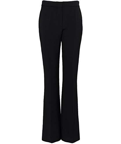 Pantaloni Donna Sartoriali Punto Victoria Beckham Nero Da Triplo Bqx7EXPg