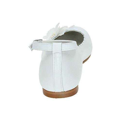Escarpins Spain Fille Made Pour In Blanc wPgxpqEC