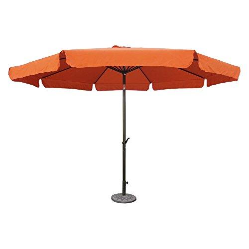 International Caravan St. Kitts 11.5 ft. Aluminum Patio Umbrella Crank Review